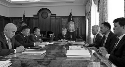 Три партии вошли всостав новейшей правящей коалиции Киргизии