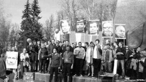 ВПетербурге задержали 40 участников несанкционированной протестной акции