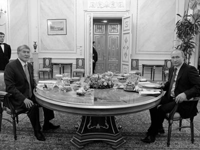 Президенты РФ иКиргизии подписали Декларацию обукреплении союзничества