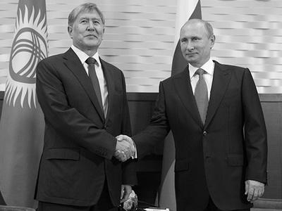 ВКазань прилетел президент Киргизии Алмазбек Атамбаев