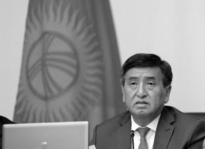 Премьер Киргизии уходит вотставку всвязи сучастием впрезидентских выборах