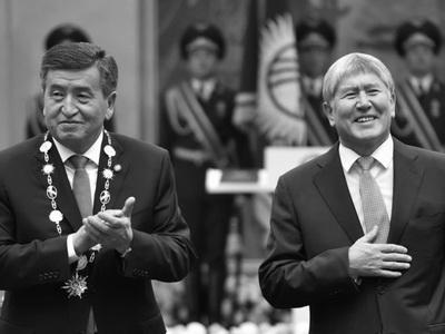 Новый президент Киргизии пообещал сперва дать звание Героя республики Атамбаеву
